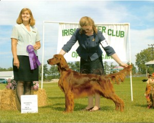 Ryan winning a 5 point Specialty Major to finish his championship at 14 months.